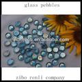 ronda de vidrio pulido de la luz azul de la piscina del jardín decoración de venta al por mayor boladecristal