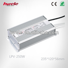 LPV-250W LED constant voltage waterproof power supply 48V