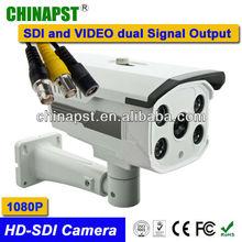 Metal Full HD 2.0 mega Pixels 6mm Lens 1080p HD-SDI Box Camera PST-HD304RS CE Rohs FCC