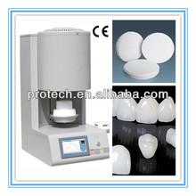 Programmable controller zirconia dental furnace dental lab workstation used