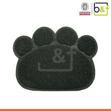 Soft Pet Toilet Hot Fashion Paw Design PVC Cat Litter Mat