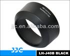 LH-J40B Black lens hood For OLYMPUS M.ZUIKO DIGITAL 45mm 1:1.8 Lens from JJC