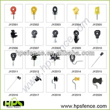 Many type plastic PP UV resistance electric fence insulator for electric fence