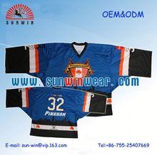 Sublimata saia numeri/secco sublimazione adatta hockey su ghiaccio camicie