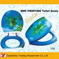 Yaxing y82 plage, imprimés siège de toilette doux