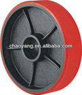 Pallet Truck driving pu / nylon / rubber wheel 180mm/ 200mm