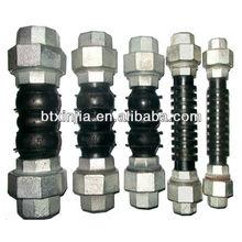 galvanized union type rubber expansion flexible joints