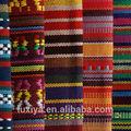2014 estilo étnico tiras de largura de tecido tecido 100% poliéster estoque os estoques de matéria têxtil