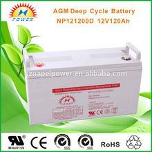 12V120AH activ energy battery for solar system