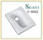 Ceramic Squatting WC Pan Squat Toilet