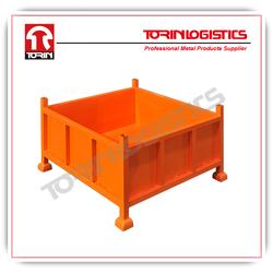folding bulk steel container (880L*880W mm/OEM)