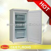 hotel /home solid door Compact upright freezer