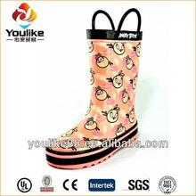 YL7199 Girls Cartoon Fashionable Wellies