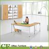 CF-D10309 New design white office furniture computer table design