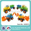 -- متعددة الأغراض البلاستيكية شاحنة مزرعة جرارة لعبة للأطفال