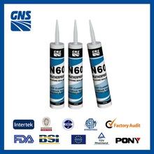 silicone rubber adhesive sealant 300ml siliconized sealant curtain wall silicone sealant