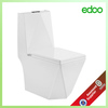 Chaozhou factory toilet bowl manufacturer Elegant design one piece square toilet 3D diamond toilet sanitary ware