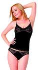 Cotton / spandex fabric underwear & high-cut briefs for women