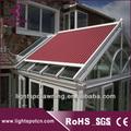 Toit en verre électrique auvent pergola/toit parasol