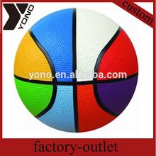 wholesale rubber basketball balls
