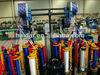 Professional polypropylene rope knitting machine