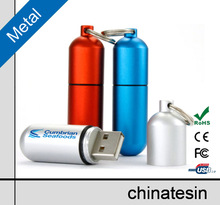 Medical Pill Shape USB Flash Drive ,Metal USB Drive with Customized Logo