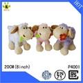 Promocional barato animal de la forma minion suave peluche de juguete de felpa