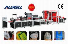 Wenzhou full auto non woven box bag machine with Handle(AW-XB700-800)