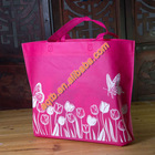 recyled eco friendly fashional non woven grocery bag for promotion