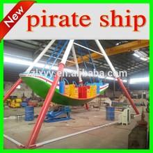Amusement park colorful small mini pirate ship for sale