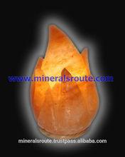 artigianale himalayano naturale di cristallo alla moda fantasia salgemma lampade