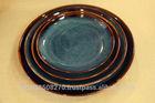 Natural Glazed Porcelain Rounded Plate