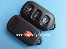 Classic style Toyota 3+1 buttons remote key case key shell key cover car key case