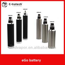 So Cool! high quality e cig new style ego battery 1000mah/1700mah/1900mah