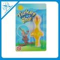 Fronde jouets collants bas prix de gros en plastique dinde jouet