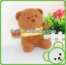 new toys 2014 cute plush toy bear beautiful plush bear