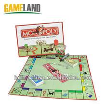 Modificado para requisitos particulares de comercio propiedad juegos de mesa juego de impresión