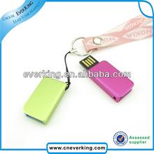 Novelty Metal Laser light logo within USB Flash Stick
