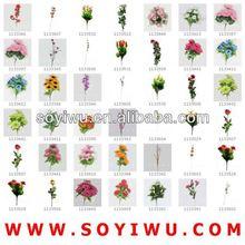 PURPLE WEDDING FLOWER CENTERPIECES Wholesaler from Yiwu Market for Artificial Flower & Bines