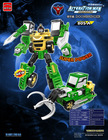 2in1 2014 Hot Sales High quality Plastic Robot Toy Tobot Transforming Robot Toy 805A