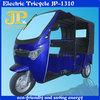 Popular three wheel electric rickshaw for passenger market