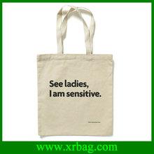 China supplier canvas custom reusable shopping bag
