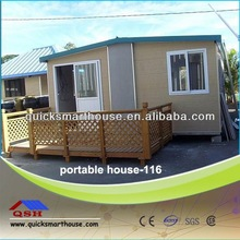 foldable mobile house with wheel