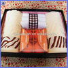 hot sale advertising gift box towel/towel gift ideas