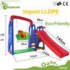 Kindergarden playground preschool kids plastic slide