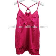 Stocklot Lady's 100% Cotton Pretty Vest