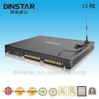 Dinstar SMS Gateway Dinstar 16 channels VoIP GOIP Gateway 16 Channels GSM/CDMA sms gateway