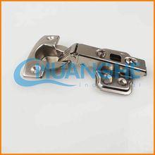 Hydraulic buffering hinge angle hinge