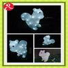 Acrylic small animal led lights christmas decoration lights flasher wedding lights gift advertising waterproof