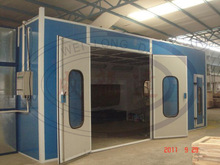 OEM water curtain spray booth